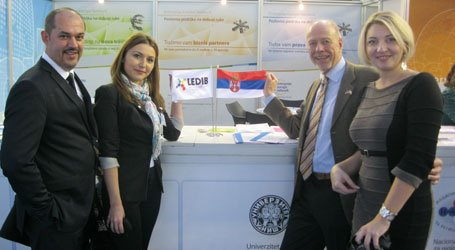 "Cluster House at ""Business Base"" Trade Fair in Belgrade"